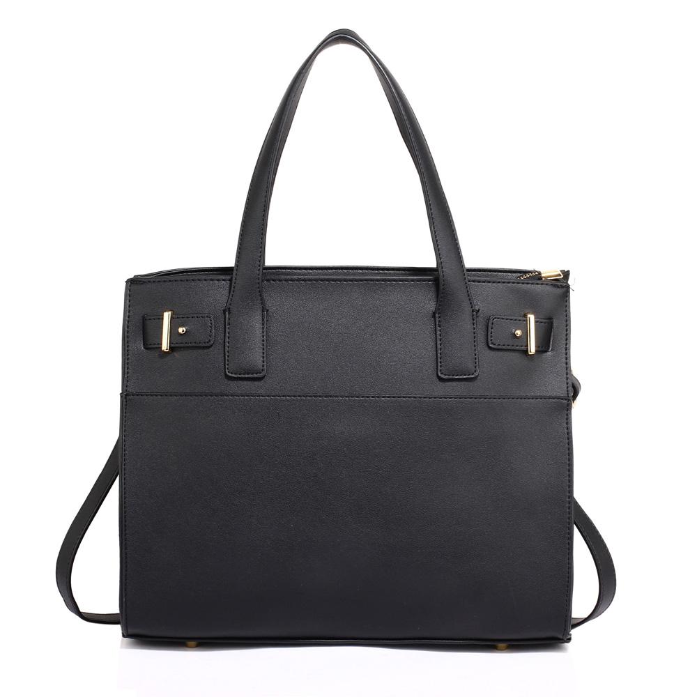 08b85e4228 Čierna kabelka do ruky DK00527-black