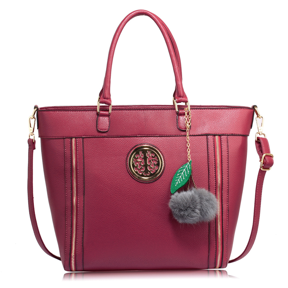 Fialová kabelka do ruky DK00404-purple 7111d134cb7