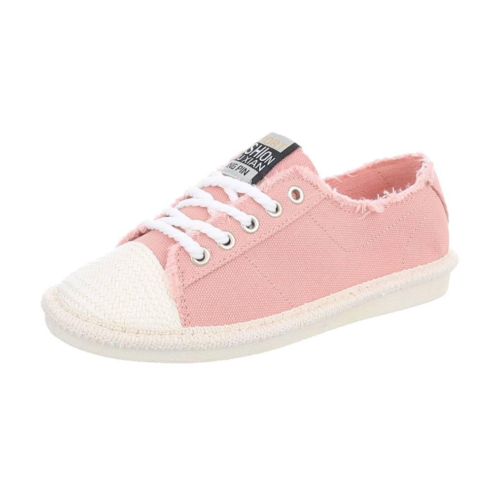 Plátené tenisky TOP-D-39-pink 43d5b9b451f