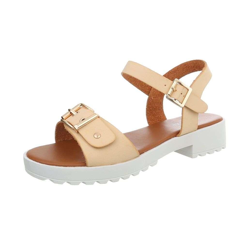 08e82d5ed255 Béžové dámske letné sandále TOP-B-68-beige