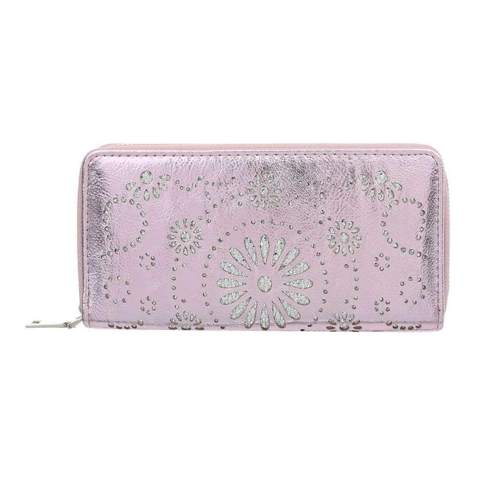 4b050abf83 Ružová vyrezávaná peňaženka VSGL-GB-DL6022-pink