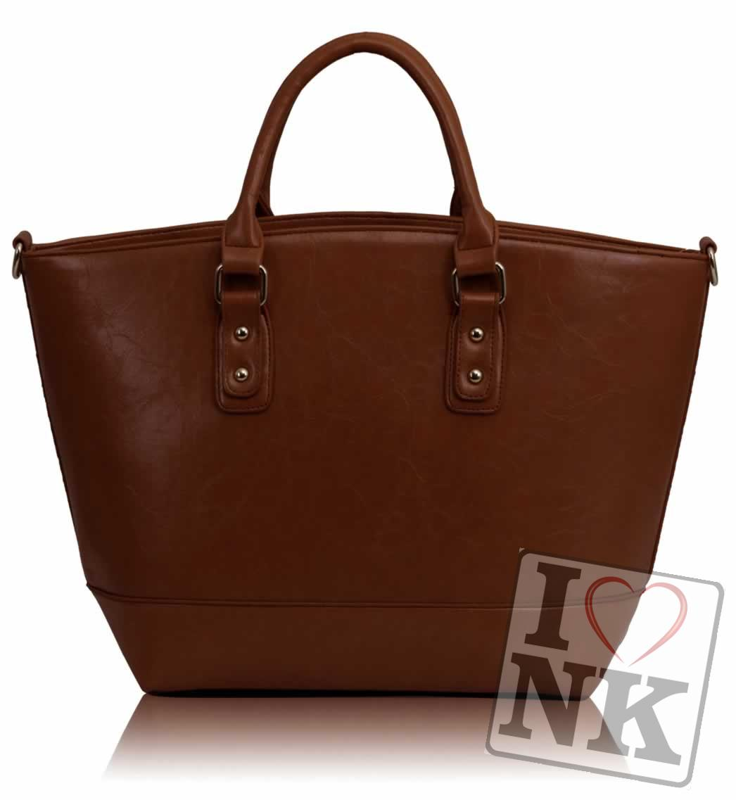 Trendy kabelka do ruky DK085A-brown