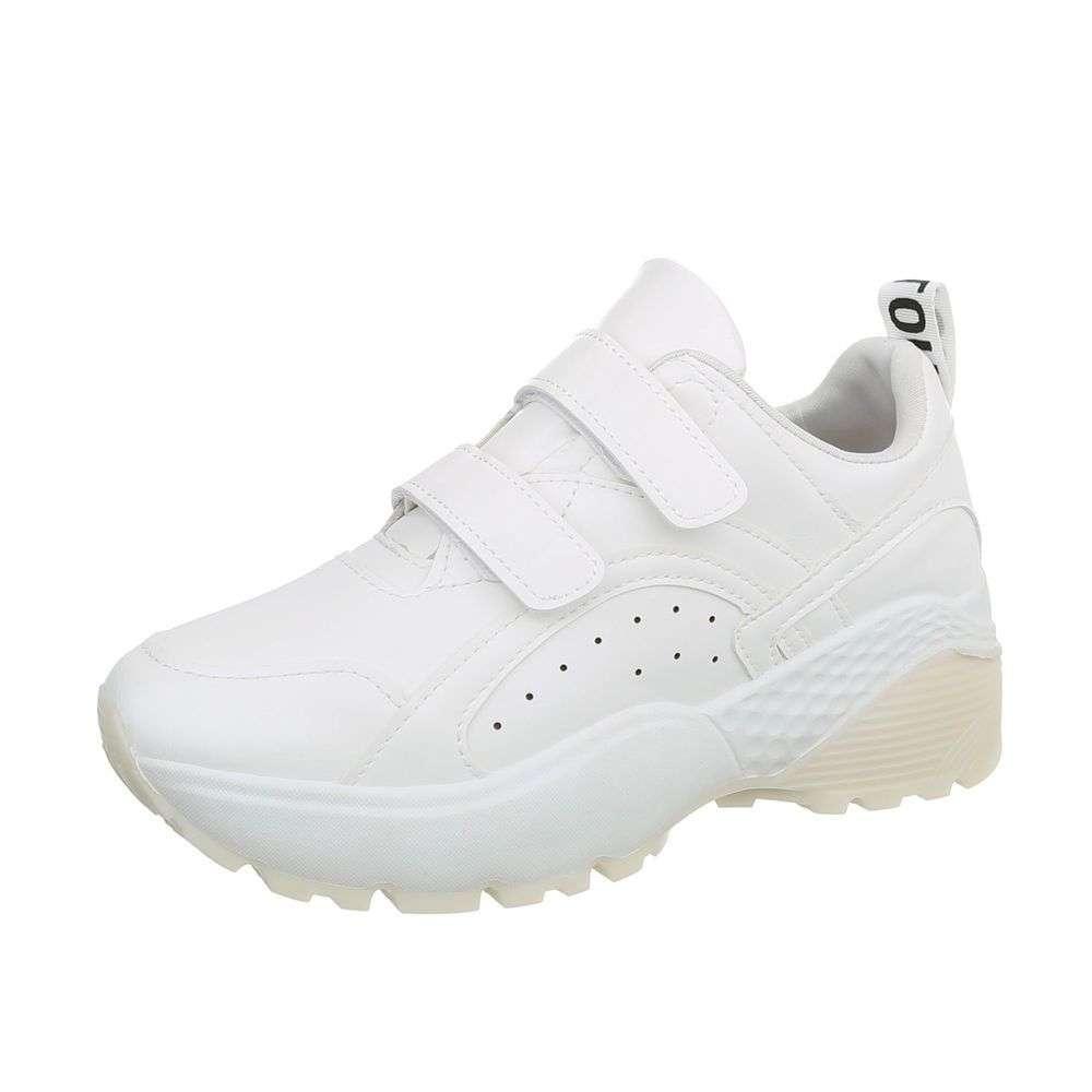 46831e0d6 Dámske botasky na hrubej podrážke TOP-66016-white