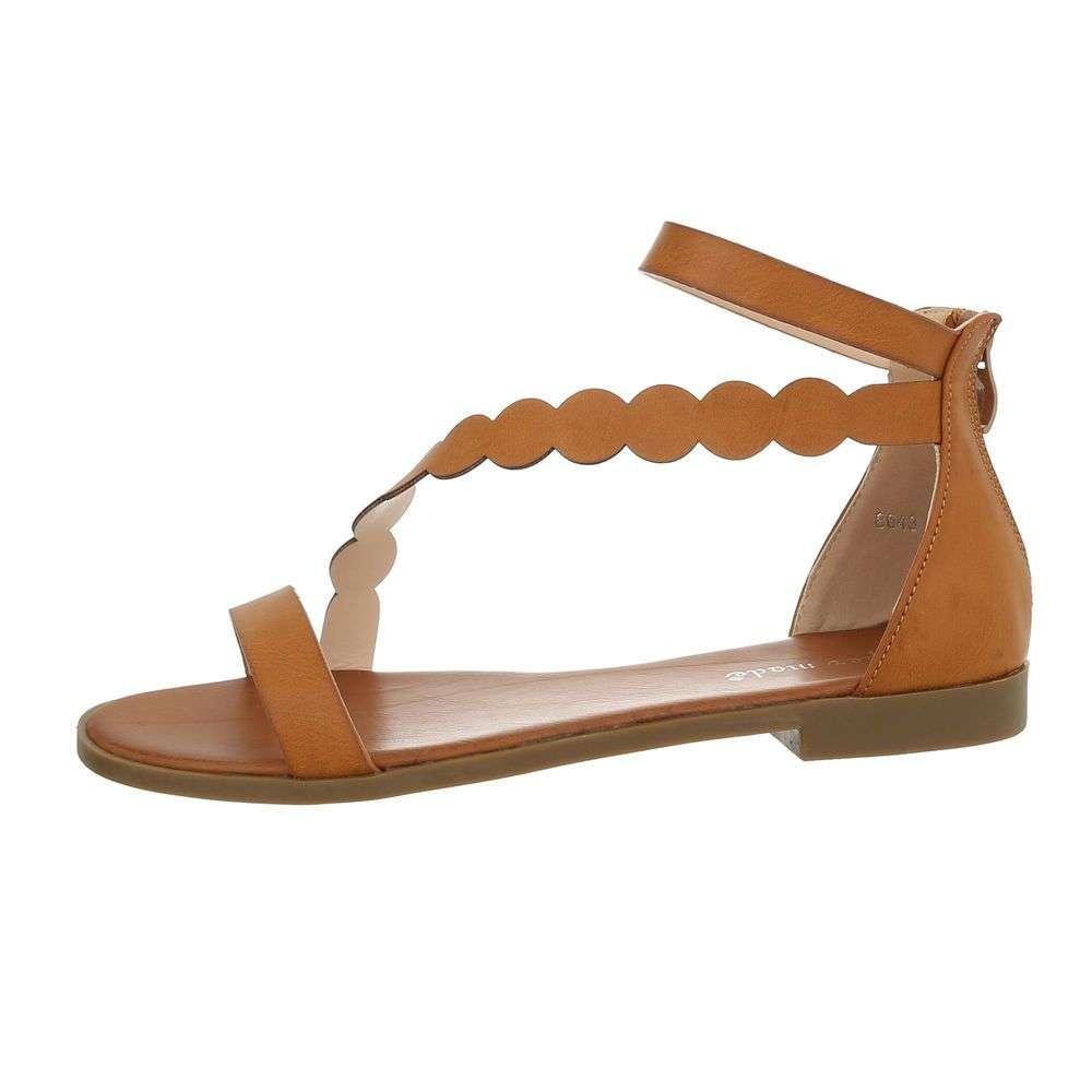 093fead06f66 Hnedé dámske sandále TOP-8643-camel