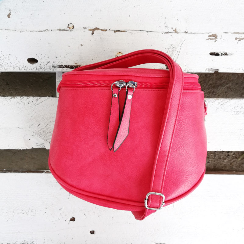 Červená crossbody kapsička WE-1112-red