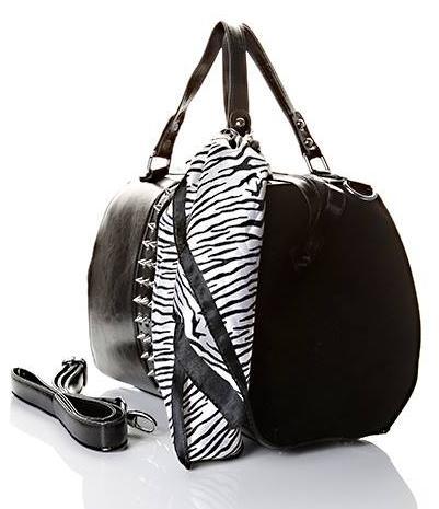 Kabelky | Vybíjaná kabelka do ruky so šatkou | Najkrajšie kabelky