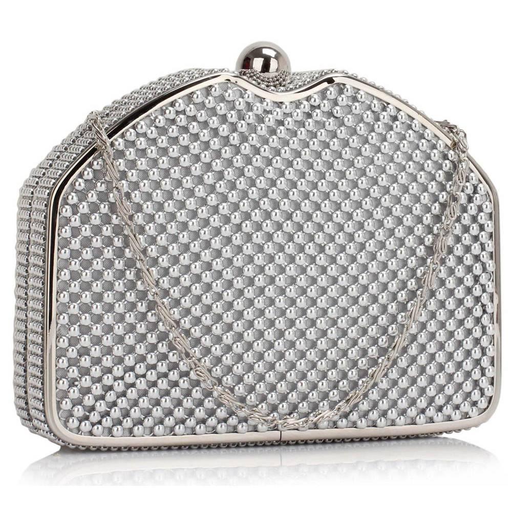 Luxusná mini kabelka DKA00303-silver 98f4a1a5adb