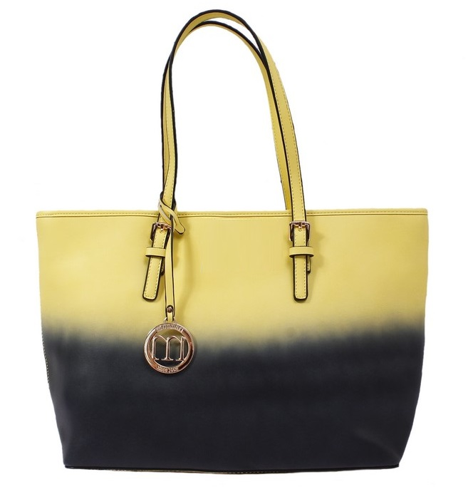 Tónovaný shopper MONNARI MON2430-yellow/black