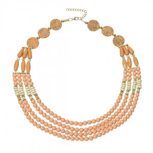 Štýlový náhrdelník s korálkami BZ403449-8 e6e66261708