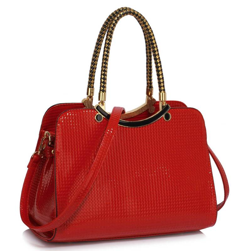 Kabelka do ruky Six DK00395a-red