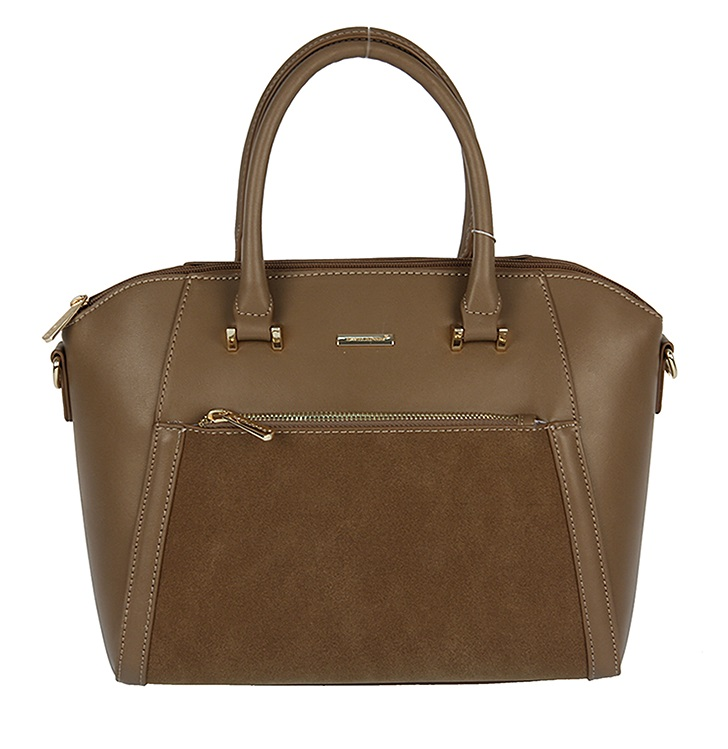 Trendy kabelka do ruky David Jones CM5207-4-d.camel