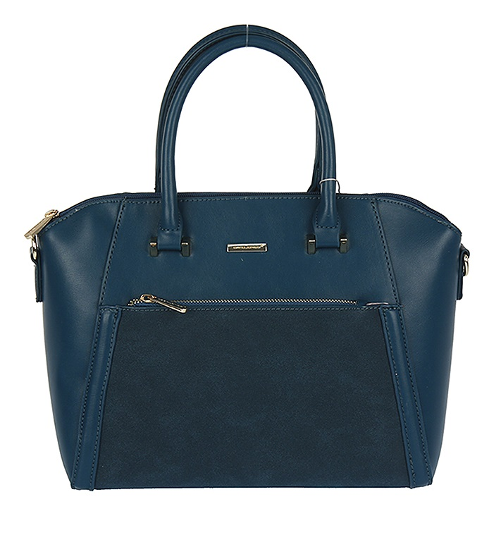Trendy kabelka do ruky David Jones CM5207-4-peacockblue