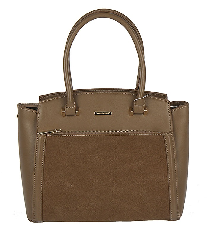 Trendy kabelka do ruky David Jones CM5207-3-d.camel