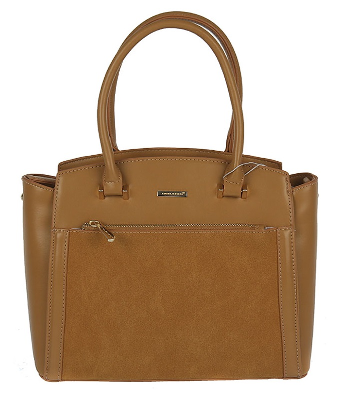Trendy kabelka do ruky David Jones CM5207-3-caramel