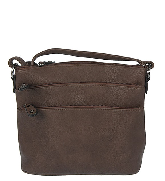 Trendy crossbody WE-V118-coffee