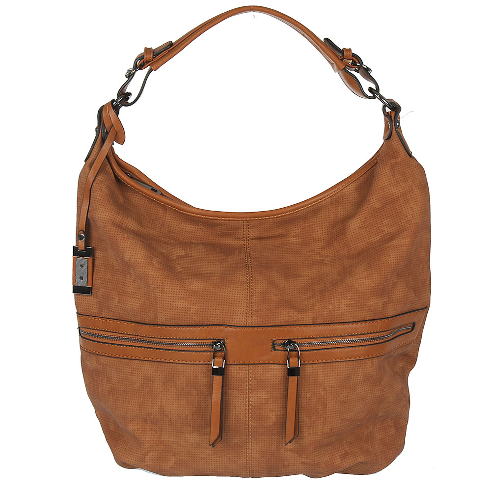 Štýlový shopper BRIANA WE-D16-brown