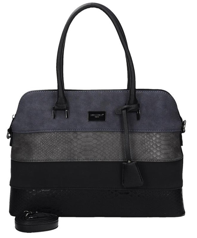 Elegantná kabelka do ruky David Jones CM5256-1-black