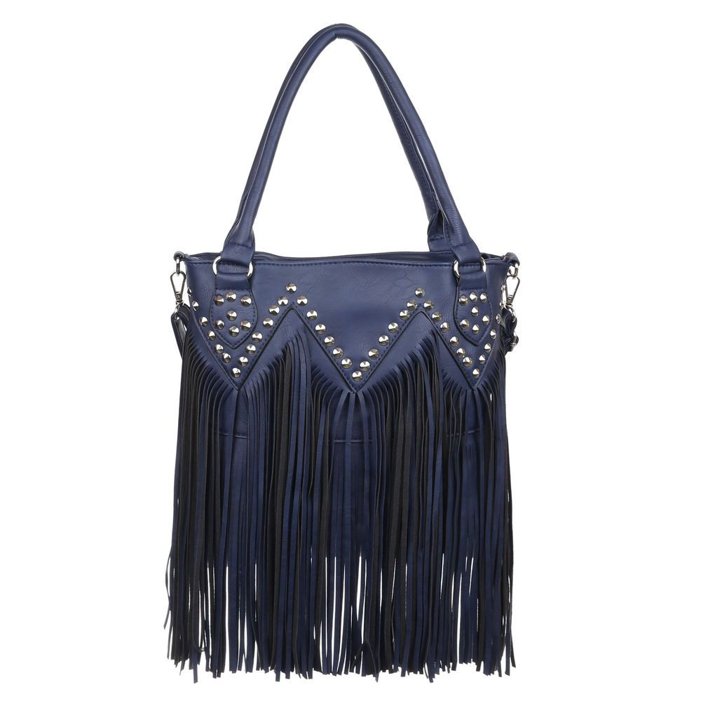 Strapcový shopper Willis VSGL-0919-blue