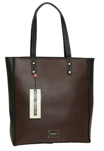 Shopper kabelka MONNARI MON7982-brown/black