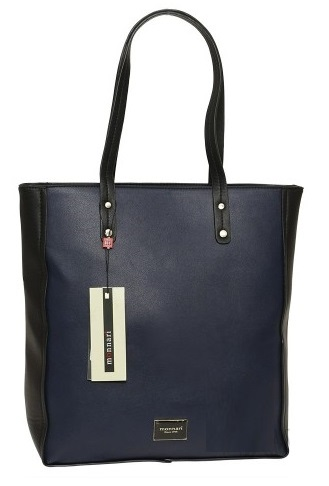 Shopper kabelka MONNARI MON7982-navy/black