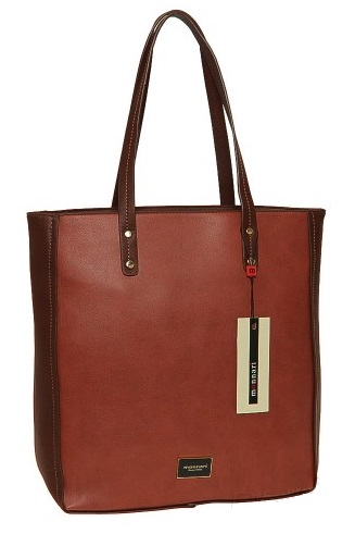 Shopper kabelka MONNARI MON7982-camel/brown
