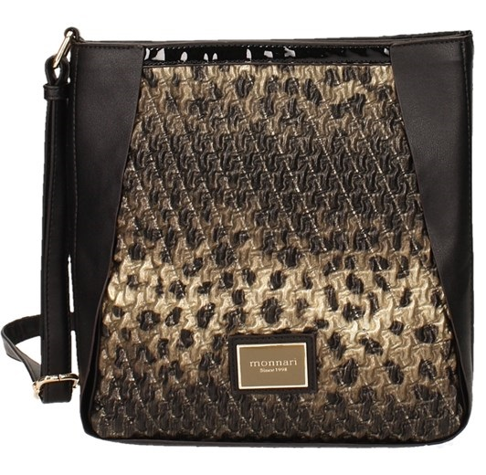 Luxusná crossbody MONNARI MON9340-black/gold