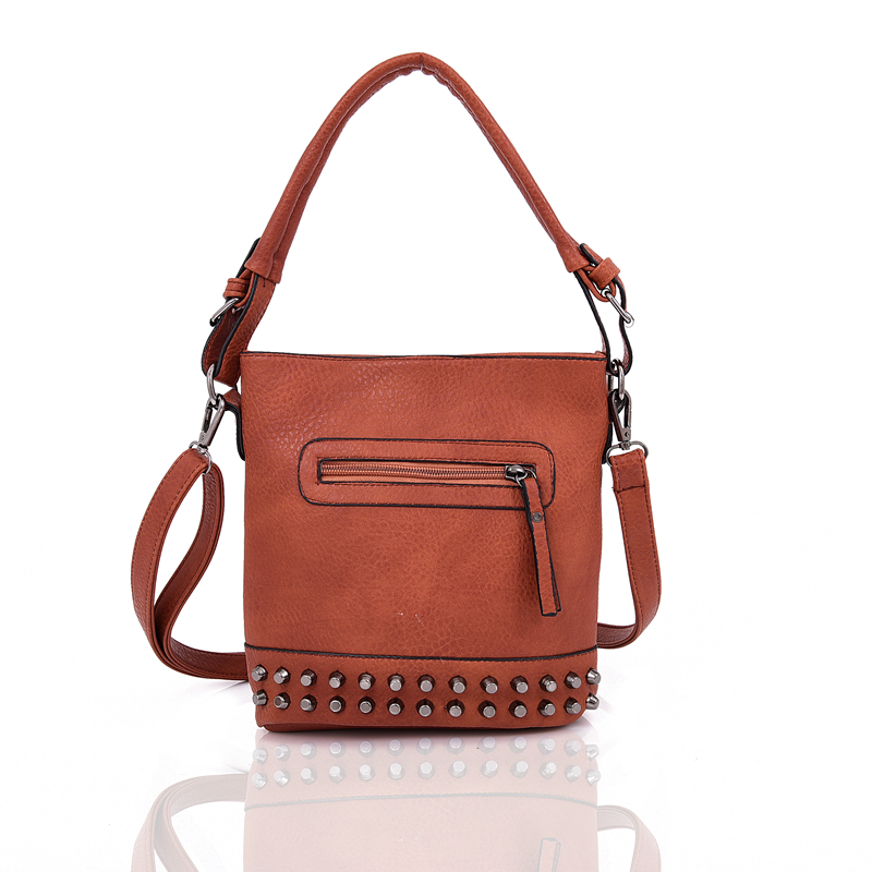 Štýlová crossbody NANCY DJC-WBB248PU-brown