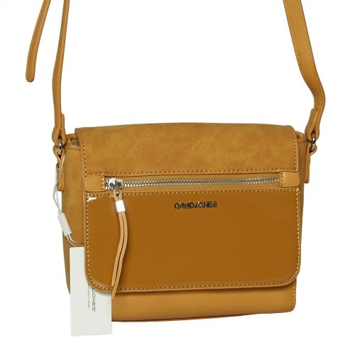 Žltá crossbody kabelka David Jones CM5211-2-yellow
