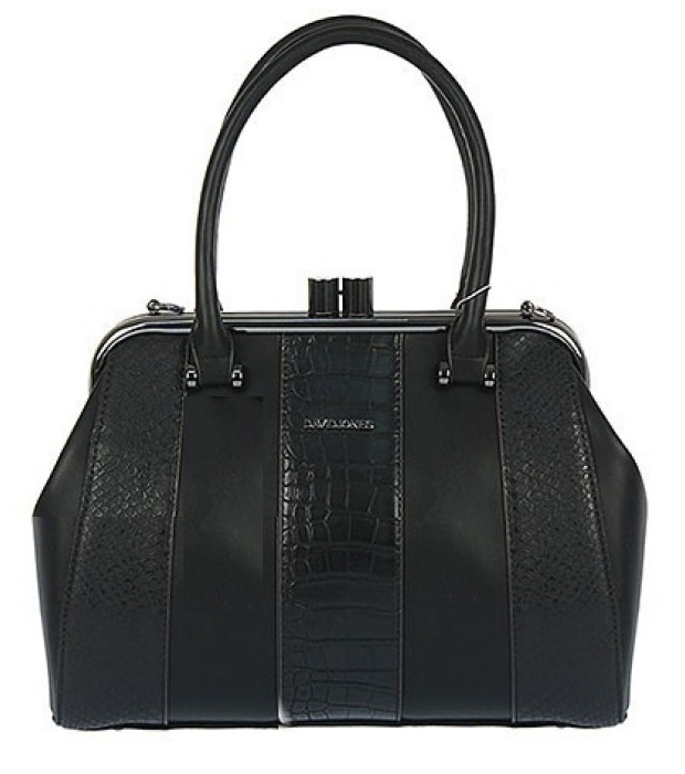Čierna kabelka do ruky David Jones CM3202-black
