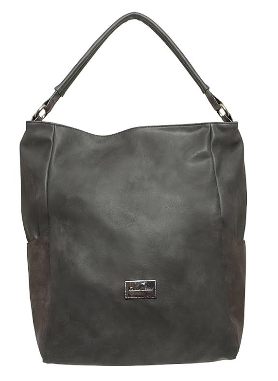 Sivá shopper kabelka Carla Berry CB-16232-grey