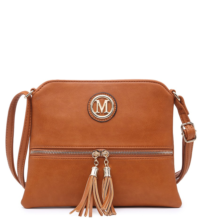 Hnedá crossbody DKM-34198-brown