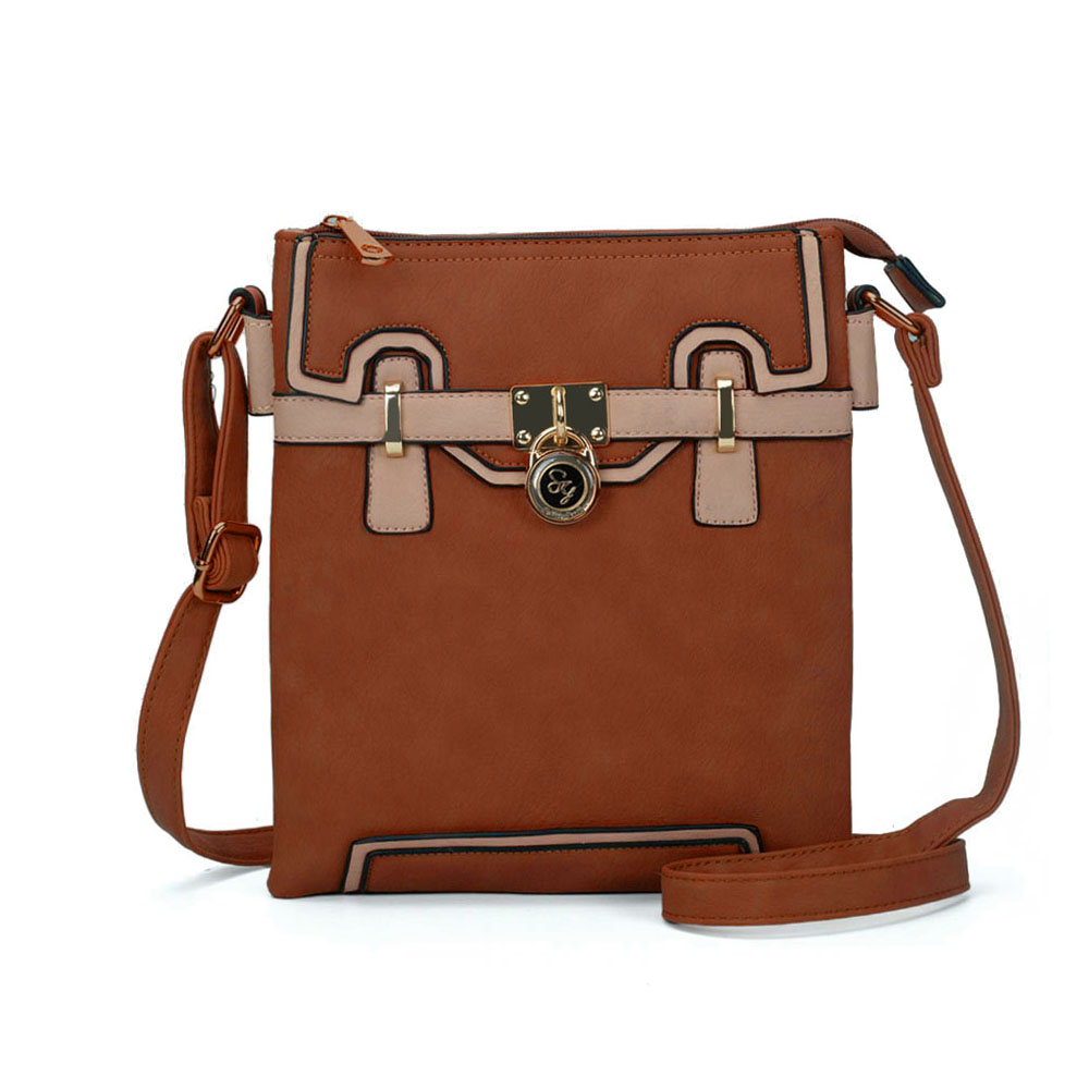 Hnedá crossbody DKA-2104-brown