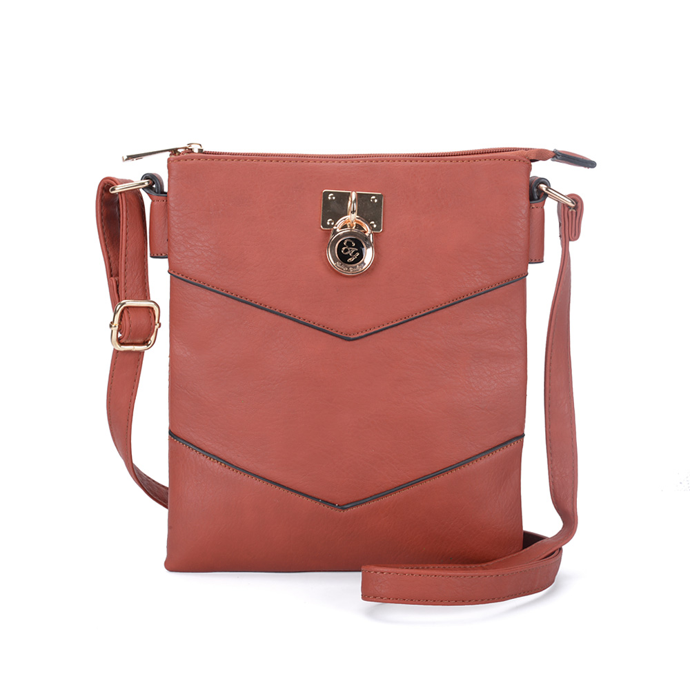 Hnedá crossbody DKA-2101-brown