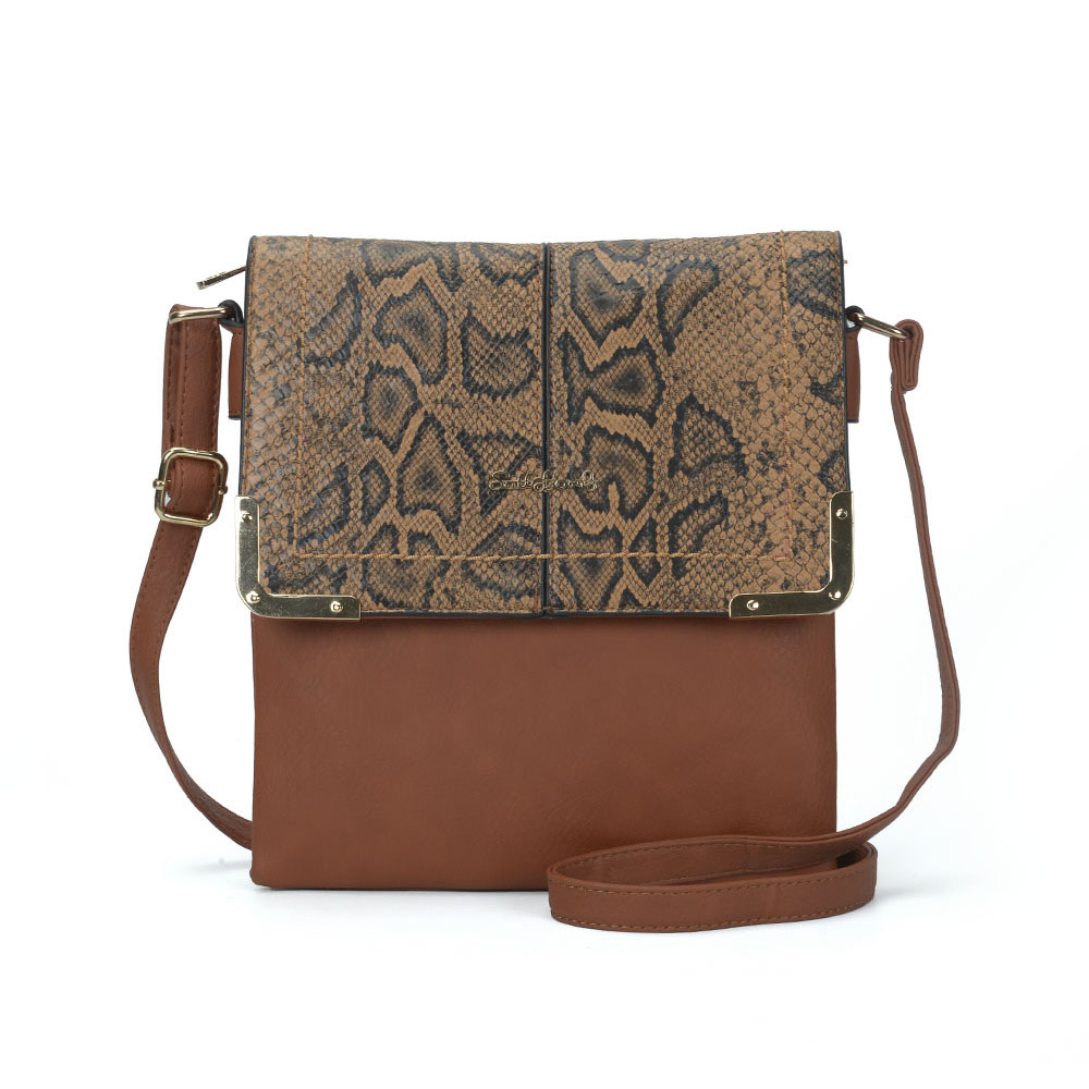 Hnedá crossbody DKA-2103-brown
