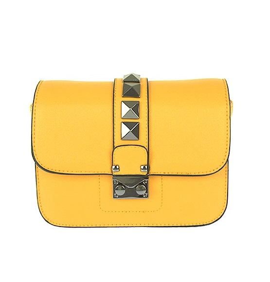 Žltá crossbody kabelka na rameno WE-HJ856-yellow