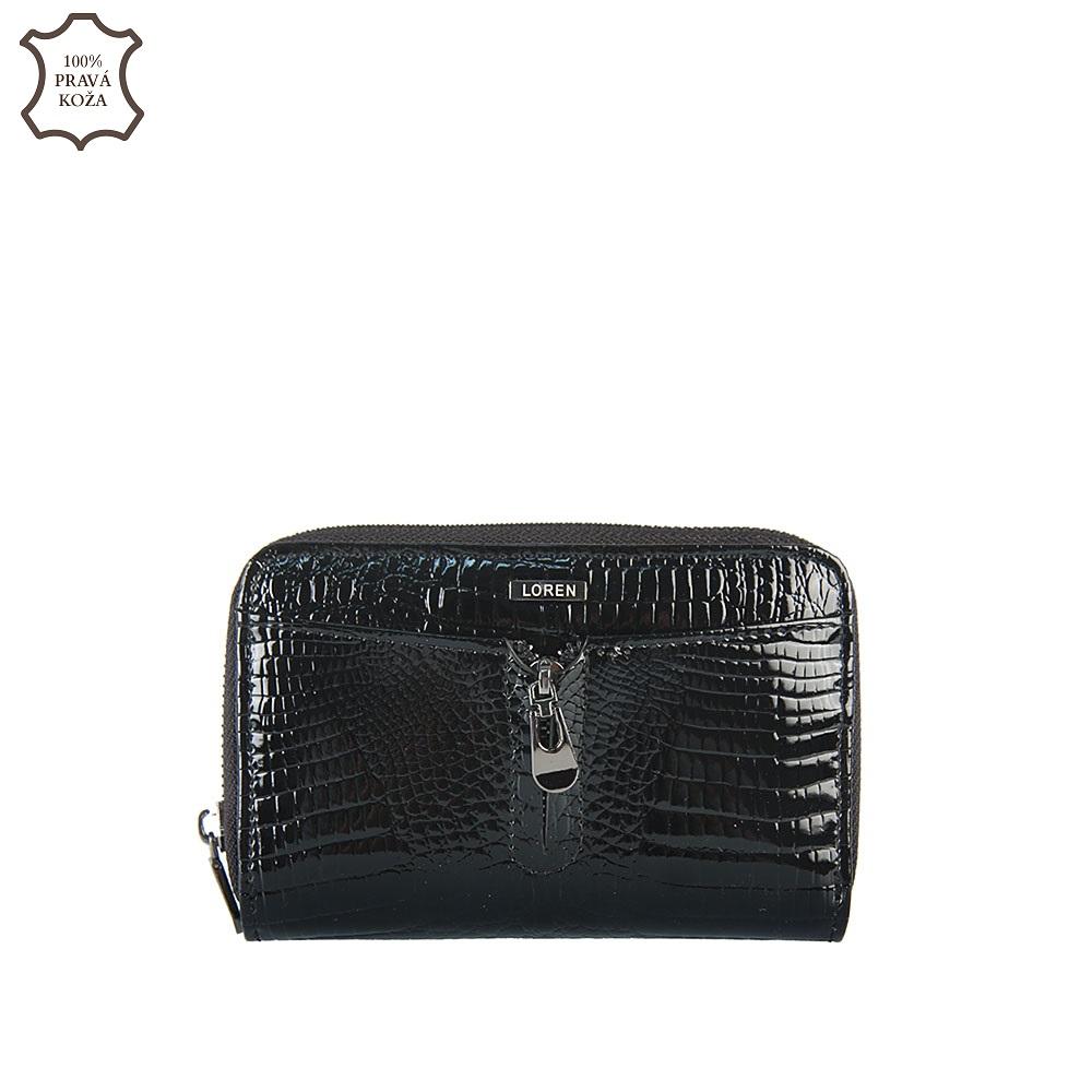 a14cae4ac4 Luxusná kožená peňaženka LORENTI 55025-RS-black