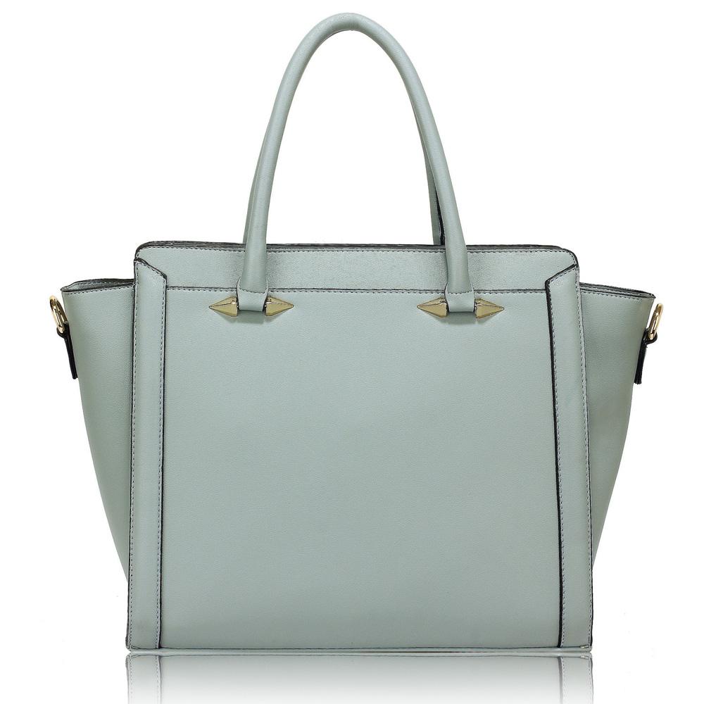 Elegantná kabelka do ruky DK00516-blue empty ea271d29259