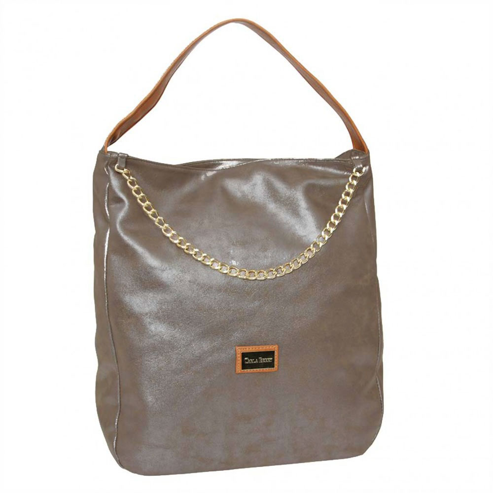 Shopper kabelka na rameno Carla Berry CB-16028-brown