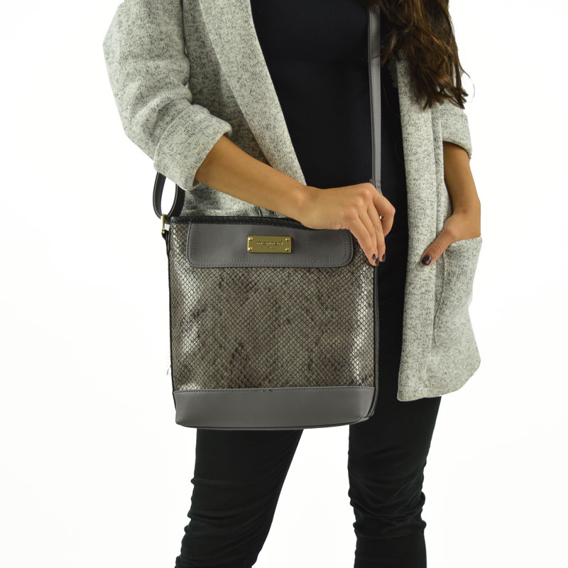 Luxusná crossbody Monnari MON9140-grey