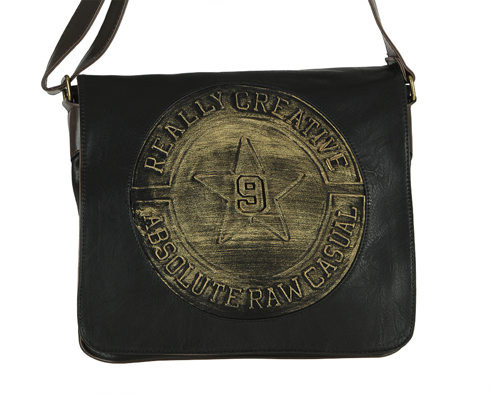 Pánska Maxi crossbody Z-6808-black