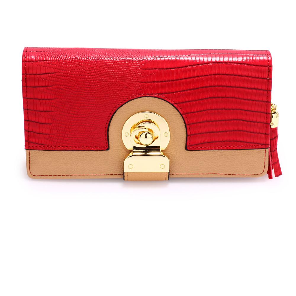 Peňaženka Samantha AGP1092B-red nude 8734427b96a