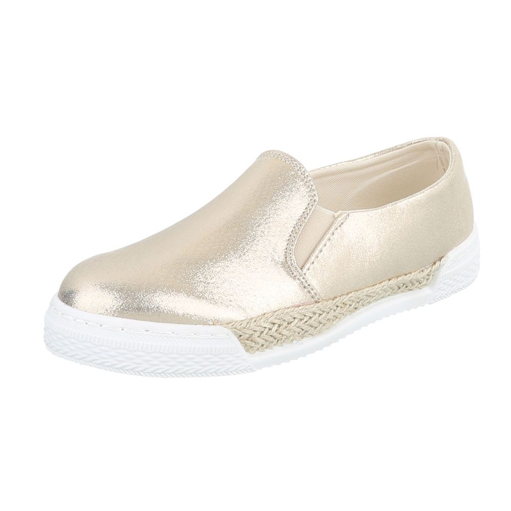 Espadrilky SONIA TOP-503-2-gold