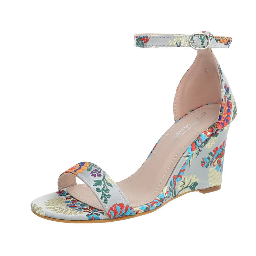 c7069f50f2816 Dámske sandále na platforme TOP-Q-18-grey empty