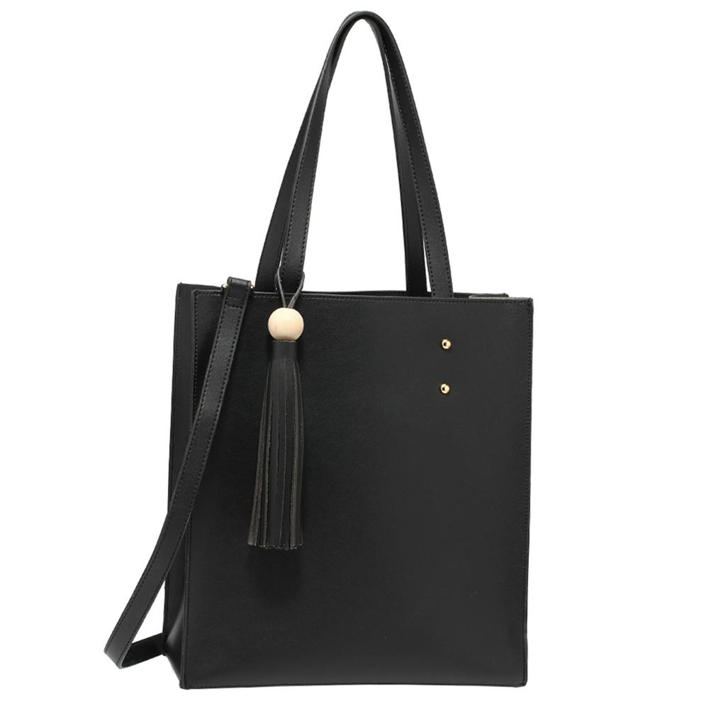 b823214bb Elegantný shopper s kapsičkou AG00594-black