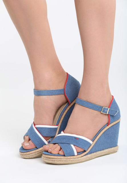 779df1df2eb91 Jeansové sandále na platforme VI-1056-blue empty