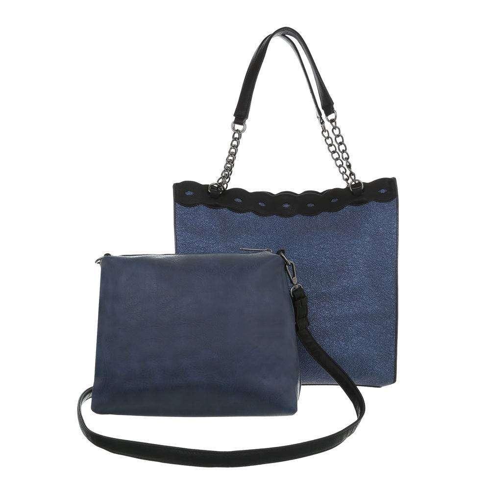 Modrá dámska kabelka 2 v 1 VSGL-TA-JQ991-9912-blue empty 983034d0f5e