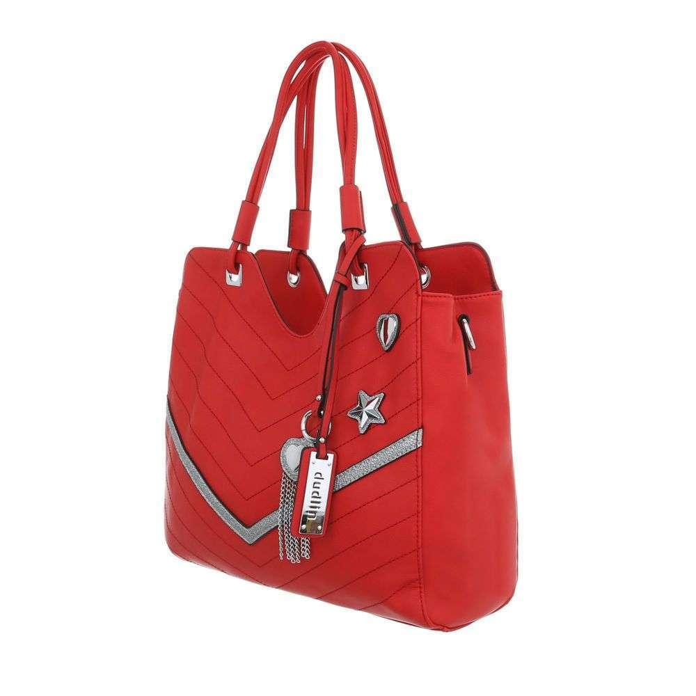 Červená dámska kabelka na rameno VSGL-TA-5835-136-red empty 7aa33d0394d