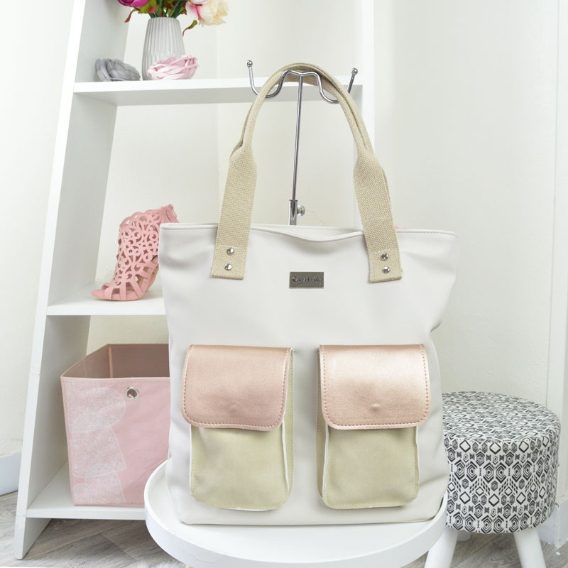 Štýlový shopper Carla Berry CB-AV-204-rose gold