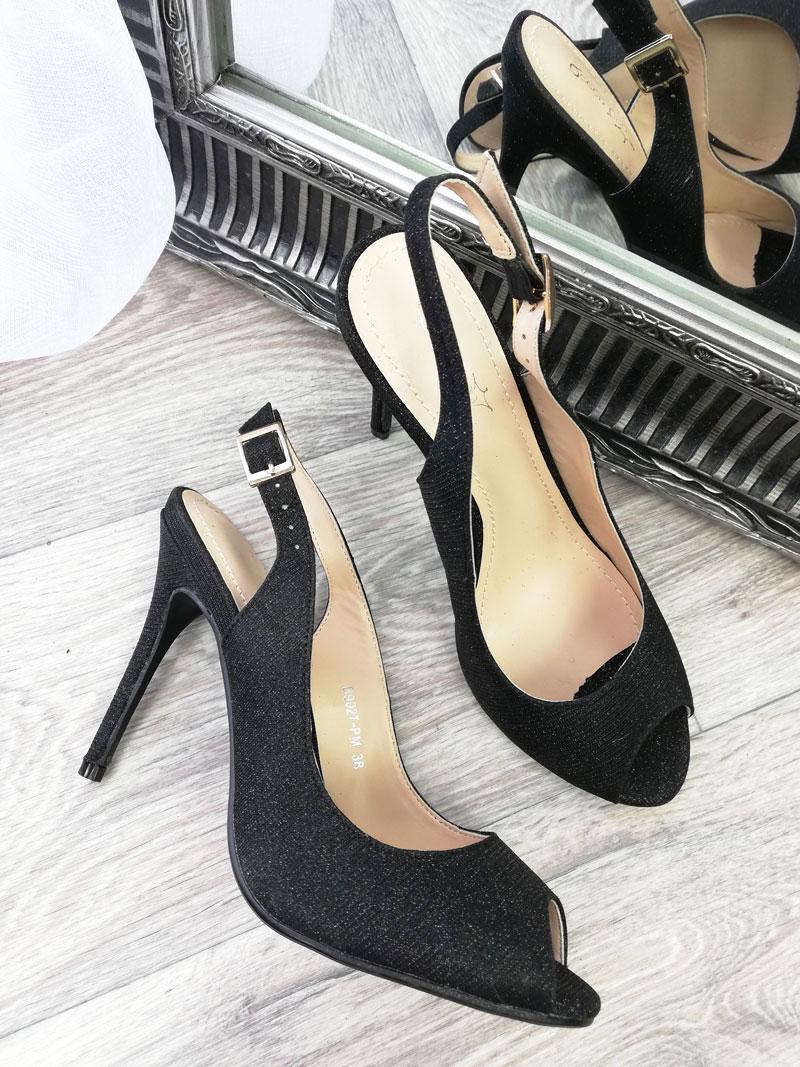 28c7cf9929c2 Dámske sandále Spark TOP-B902T-PM-black