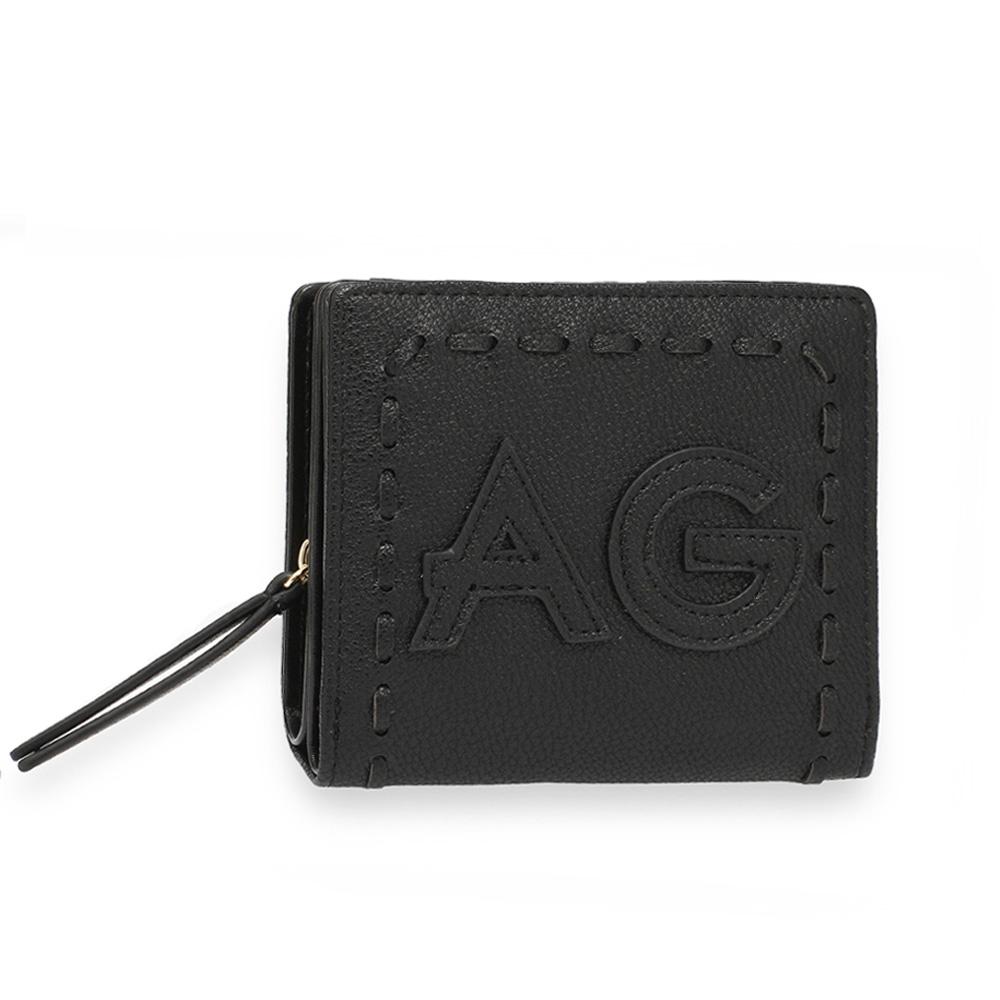 Menšia peňaženka Anna Grace AGP1105-black 0658ea02582